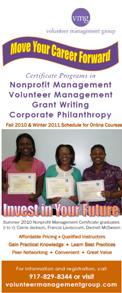 VMG | Volunteer Management Training Program